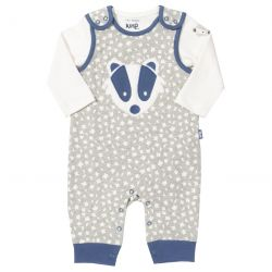 Kite Badger Dungaree Set