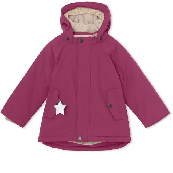 Miniature Wally Cherry Coat