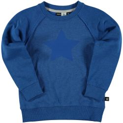 Molo Morten Blue Star Sweatshirt