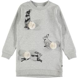 Molo Cassia Bunny Sweat Dress