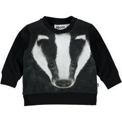 Molo Eiler Badger Face Top