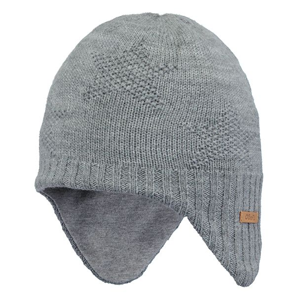 Barts Goldie Earflap Grey Hat