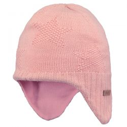 Barts Goldie Earflap Pink Hat