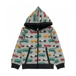 Maxomorra Traffic Zip Up Hoody