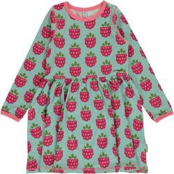 Maxomorra Raspberry Spin Dress