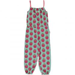 Maxomorra Raspberry Jumpsuit