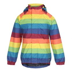 Molo Waiton Rainbow Raincoat
