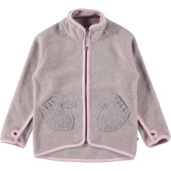Molo Ushi Pink Lady Fleece Jacket