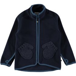Molo Ushi Blue Wing Fleece Jacket