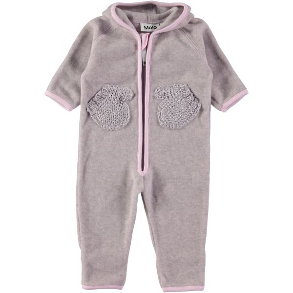 Molo Udo Pink Lady Fleece Onesie