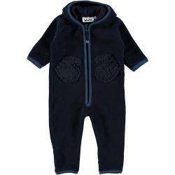 Molo Udo Blue Wing Fleece Onesie