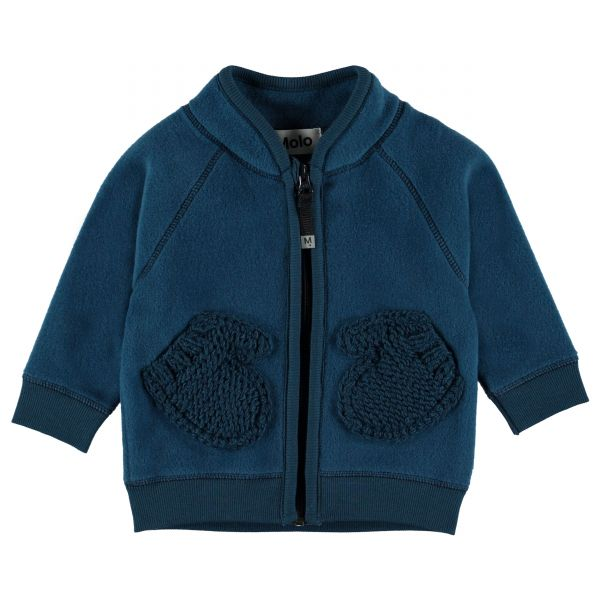 Molo Ulf Ocean Blue Fleece Jkt