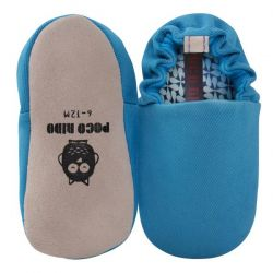 Poco Nido Blue Plain Shoes