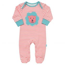 Kite Lion Pink Sleepsuit