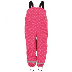 Frugi Pink Spot Puddle Trousers