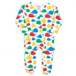 Kite Rainbow Whale Sleepsuit