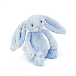 Jellycat Small Blue Bunny Rattle