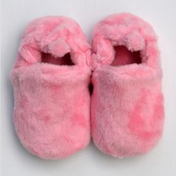 Poco Nido Pink Fluffy Shoes