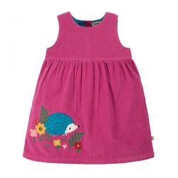 Frugi Lily Cord Hedgehog Dress