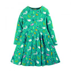 Frugi Farmyard Skater Dress
