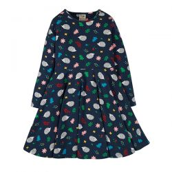 Frugi Hedgehogs Skater Dress
