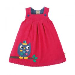 Frugi Lily Cord Owl Dress