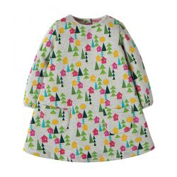 Frugi Becky Hygge Houses Dress
