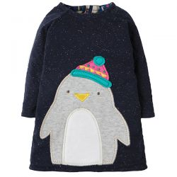 Frugi Peek a Boo Penguin Dress