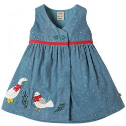 Frugi Peony Party Duck Dress