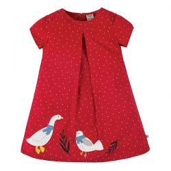 Frugi Holly Cord Duck Dress