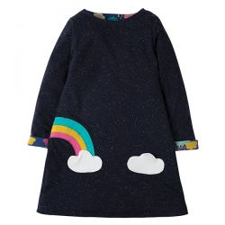 Frugi Rita Scandi Skies Dress