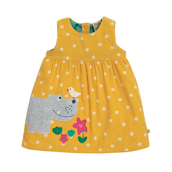 Frugi Lily Cord Hippo Dress