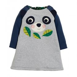 Frugi Peek a Boo Panda Dress
