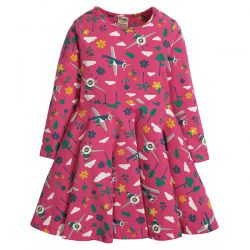 Frugi Sofia Flying High Skater Dress