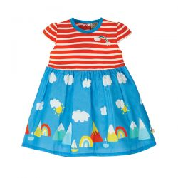 Frugi Demelza Rainbow Dress