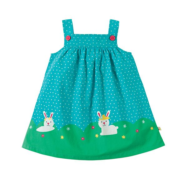 Frugi Carousel Hopping Along Pinafore