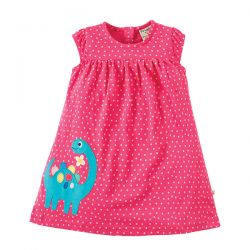 Frugi Little Lola Dino Dress