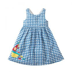 Frugi Porthcurno Boat Dress
