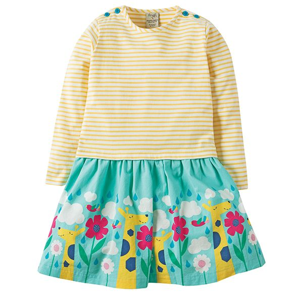 Frugi Roundabout Clouds Dress