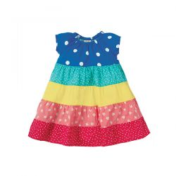 Frugi Dorothy Rainbow Twirly Dress