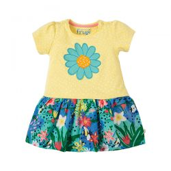 Frugi Little Laura Flower Dress
