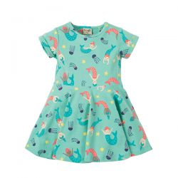 Frugi Mermaid Little Skater Dress