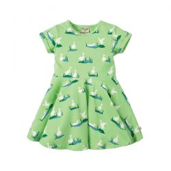 Frugi Little Duck Skater Dress