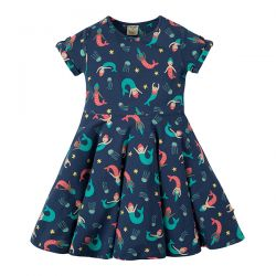 Frugi Mermaid Magic Skater Dress