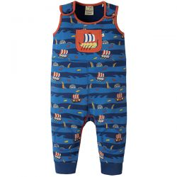 Frugi Roly Poly Kraken Up Dungaree