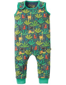 Frugi Jungle Safari Kneepatch Dungaree