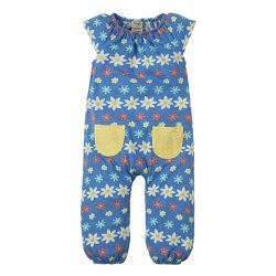 Frugi Dory Flower Farm Playsuit