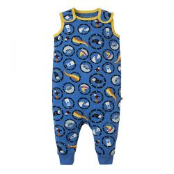 Frugi All Aboard Kneepatch Dungaree