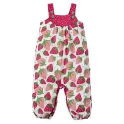 Frugi Scilly Strawberry Dungaree