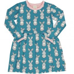 Maxomorra Rabbit Spin Dress